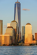 Freedon Tower, 1 WTC, the tallest skyscraper in the Western Hemisphere, designed by David Childs, New York City Skyline, Manhattan, New York