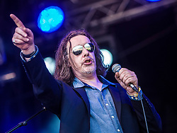 "Jake Black. Alabama 3 play the main stage. Sunday, Rockness 2013, the annual music festival which took place in Scotland at Clune Farm, Dores, on the banks of Loch Ness, near Inverness in the Scottish Highlands. The festival is known as ""the most beautiful festival in the world""."