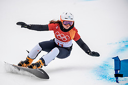 PYEONGCHANG-GUN, SOUTH KOREA - FEBRUARY 24: Gloria Kotnik of Slovenia competes during the Ladies' Parallel Giant Slalom Elimination Run on day fifteen of the PyeongChang 2018 Winter Olympic Games at Phoenix Snow Park on February 24, 2018 in Pyeongchang-gun, South Korea. Photo by Ronald Hoogendoorn / Sportida
