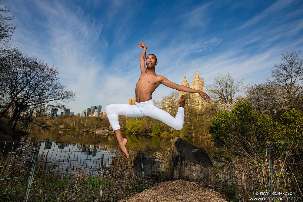 Dance As Art- the New York City Photography Project at Central Park  with dancer Daniel White