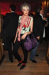 Model AGYNESS DEYN at a party to celebrate Westfield London's sponsorship of the British Fashion Council's Fashion Forward Awards held at the Haymarket Hotel, 1 Suffolk Place, London on 17th July 2007.<br /><br />NON EXCLUSIVE - WORLD RIGHTS