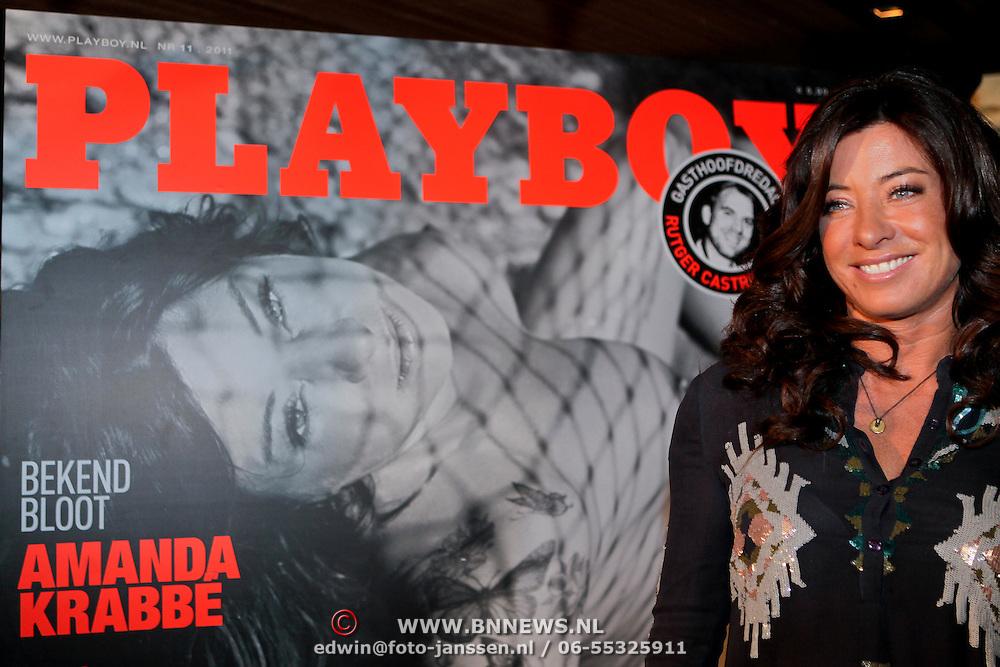 NLD/Amsterdam/20111006 - Lancering Playboy met Amanda Krabbe, Zarayda Groenhart