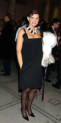 NATALIE MASSENET at the 2005 British Fashion Awards were held at The V&A museum, London on 10th November 2005.<br />