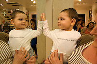 Paula Comerford and son Jorimhiveen Raman at the opening of United Colors of Benetton Store in Anthony Ryan's. Photo:Andrew Downes