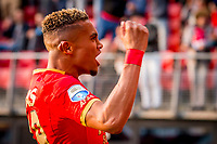 ALKMAAR, 19-05-2017, AZ - FC Groningen,  AFAS Stadion, AZ speler Dabney dos Santos Souza juicht, juichen