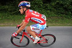 Luca Paolini of Italia (Acqua Sapone - Caffe Mokambo) during 1st stage of the 15th Tour de Slovenie from Ljubljana to Postojna (161 km) , on June 11,2008, Slovenia. (Photo by Vid Ponikvar / Sportal Images)/ Sportida)