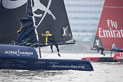 Final day of the Louis Vuitton America's Cup Worlds Series in Fukuoka. Sunday the 20th of November 2016, Fukuoka, Japan