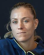 ANGELIQUE KERBER (GER), Interview<br /> <br /> Tennis - Australian Open 2018 - Grand Slam ITF / ATP / WTA -  Melbourne Park - Melbourne - Victoria - Australia  - 14 January 2018.