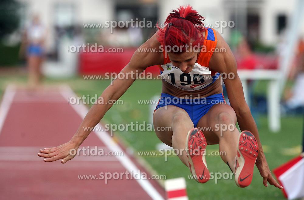 Nina Kolaric at Athletic National Championship of Slovenia, on July 20, 2008, in Stadium Poljane, Maribor, Slovenia. (Photo by Vid Ponikvar / Sportal Images).