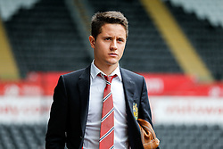 Ander Herrera of Manchester United arrives at the stadium - Mandatory byline: Rogan Thomson/JMP - 07966 386802 - 30/08/2015 - FOOTBALL - Liberty Stadium - Swansea, Wales - Swansea City v Manchester United - Barclays Premier League.