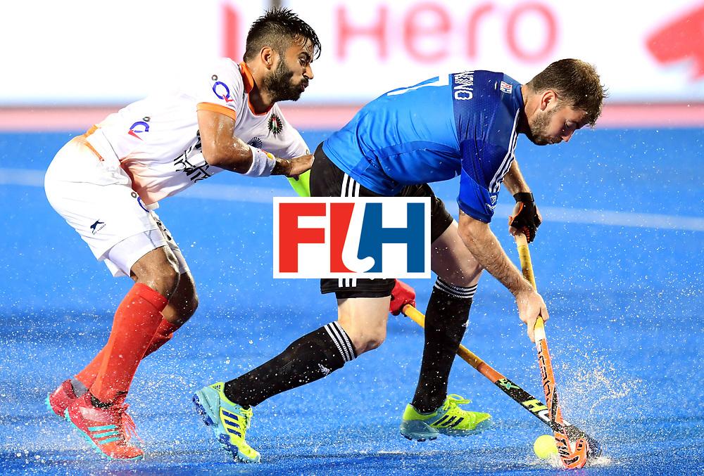 Odisha Men's Hockey World League Final Bhubaneswar 2017<br /> Match id:19<br /> India v Argentina<br /> Foto: Alan Andino (Arg) <br /> COPYRIGHT WORLDSPORTPICS FRANK UIJLENBROEK
