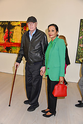 Sir Michael Caine and Lady Caine at the START Art Fair - Preview Evening held at the Saatchi Gallery, Duke of York's HQ, King's Road, London on 25th September 2019.