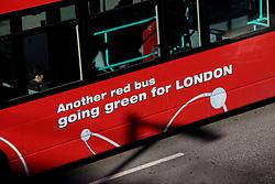 UK ENGLAND LONDON 21JUL15 - Red double-decker Hydrogen buses arrive in London Bridge at the start of a working day in London.<br /> <br /> <br /> <br /> jre/Photo by Jiri Rezac / Greenpeace<br /> <br /> <br /> <br /> &copy; Jiri Rezac 2015