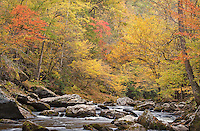 Scrambling over giant boulders brought me in front of a<br />