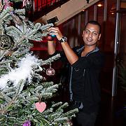 NLD/Hilversum/20121207 - Skyradio Christmas Tree, dj Michael Mendoza