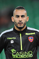 Khalid BOUTAIB - 17.10.2015 - Saint Etienne / Gazelec Ajaccio - 10eme journee de Ligue1<br /> Photo : Jean Paul Thomas / Icon Sport