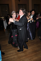LADY COLIN CAMPBELL and PETER COLEMAN dancing at the 13th annual Russian Summer Ball held at the Banqueting House, Whitehall, London on 14th June 2008.<br /><br />NON EXCLUSIVE - WORLD RIGHTS