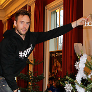 NLD/Amsterdam/20111208- Sky Radio Christmas tree for Charity, Charly Luske