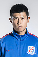 **EXCLUSIVE**Portrait of Chinese soccer player Sun Kai of Shanghai Greenland Shenhua F.C. for the 2018 Chinese Football Association Super League, in Shanghai, China, 2 February 2018.