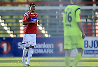 Fotball<br /> 12.08.2012<br /> Adeccoligaen<br /> Kongsvinger v Hødd 2:1<br /> Foto: Morten Olsen, Digitalsport<br /> <br /> Lester Blanco - KIL