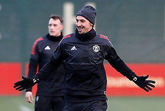 Manchester United Press Conference and Training - 04 Dec 2017