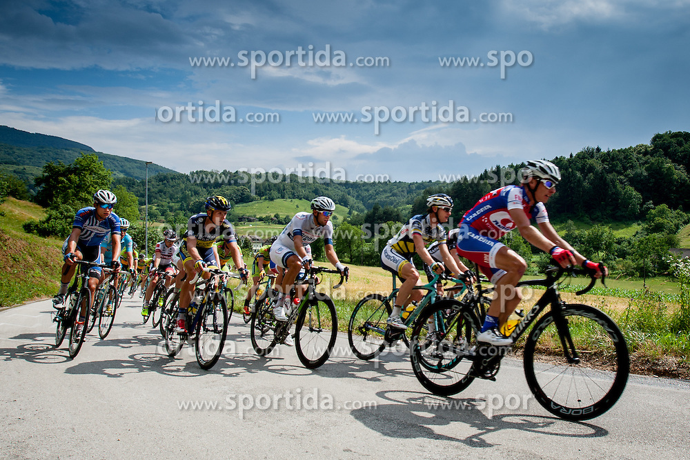 Tomaz Nose of Adria Mobil during Slovenian National Championship in Road Cycling, on June 23, 2013, in Gabrje, Slovenia. (Photo by Urban Urbanc / Sportida.com)