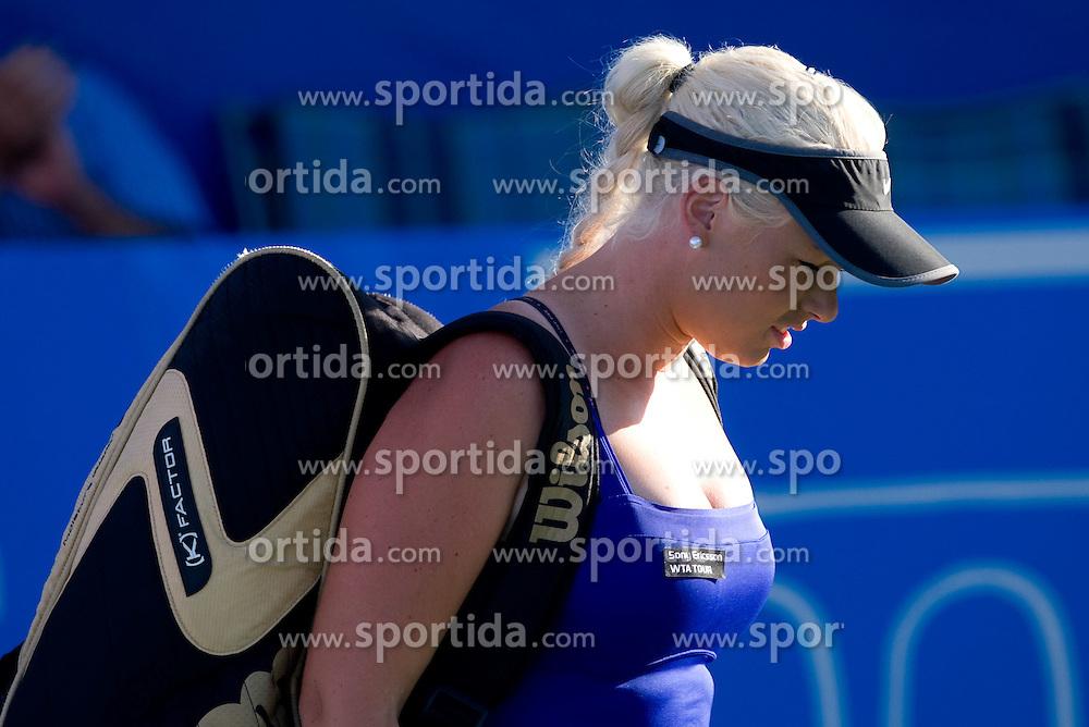 Tadeja Majeric of Slovenia at 1st Round of Banka Koper Slovenia Open WTA Tour tennis tournament, on July 20 2009, in Portoroz / Portorose, Slovenia. (Photo by Vid Ponikvar / Sportida)