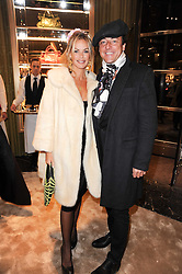 JEREMY HEALEY and EMMA WOOLLARD at a Cocktail party to celebrate the opening of the new Miu Miu boutique, 150 New Bond Street, London hosted by Miuccia Prada and Patrizio Bertelli on 3rd December 2010.