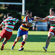 Premier Rugby union game played between Hutt Old Boys Marist (HOBM)  v Tawa , at  Lindhurst, Tawa, New Zealand, on 6 May 2017.  HOBM won 26-10.