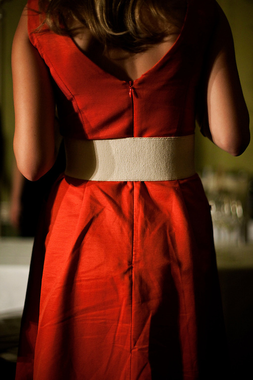 Red Dress. Buckinghamshire. 2009