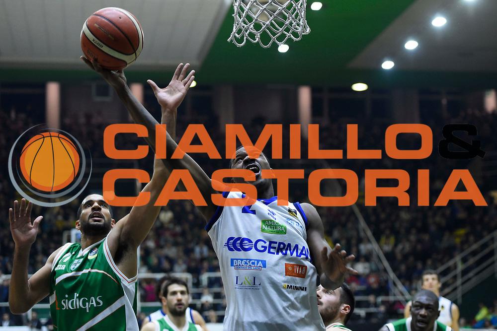Moore Lee<br /> Sidigas Avellino - Germani Basket Brescia<br /> Lega Basket Serie A 2017/2018<br /> Avellino, 28/01/2018<br /> Foto Gennaro Masi / Ciamillo - Castoria
