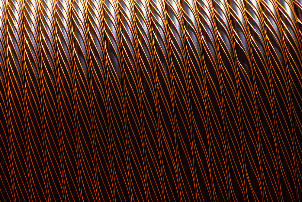 Wire coil detail