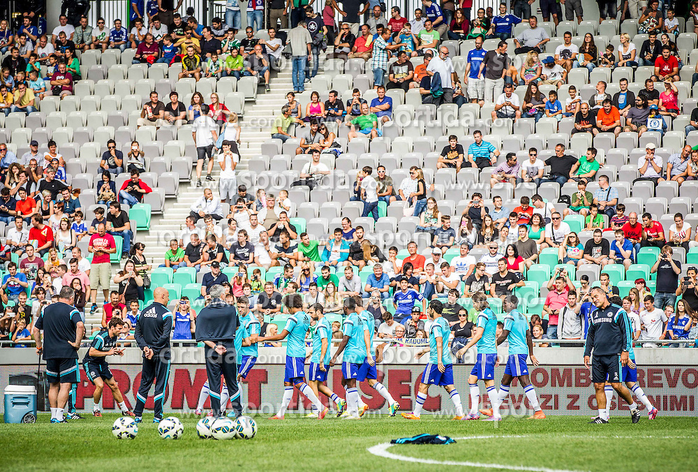 during Preseason friendly football match between NK Olimpija Ljubljana and Chelsea FC (ENG), on July 27, 2014 in SRC Stozice, Ljubljana, Slovenia. Photo by Vid Ponikvar / Sportida.com