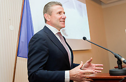 Sergey Bubka during the Slovenia's Athlete of the year award ceremony by Slovenian Athletics Federation AZS on November 8, 2013 in Grand Hotel Toplice, Bled, Slovenia. Photo by Vid Ponikvar / Sportida