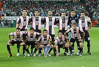 Fussball  UEFA Pokal  Halbfinale  Rueckspiel  Saison 2006/2007 Werder Bremen - Espanyol Barcelona              Teamphoto Barcelona