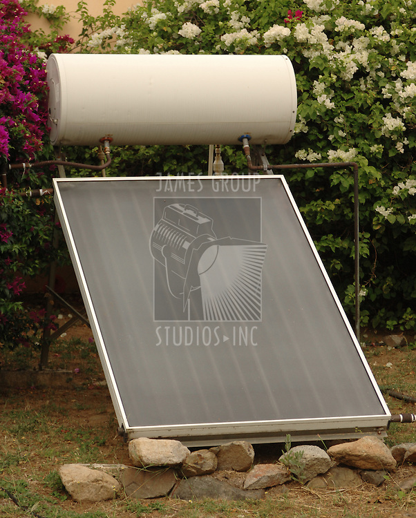 Passive solar hot water heater