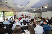 Caversham, Nr Reading, Berkshire.<br /> <br /> Top Table. Olympic Rowing Team Announcement  Press conference at the RRM. Henley.<br /> <br /> Thursday  09.06.2016<br /> <br /> [Mandatory Credit: Peter SPURRIER/Intersport Images]