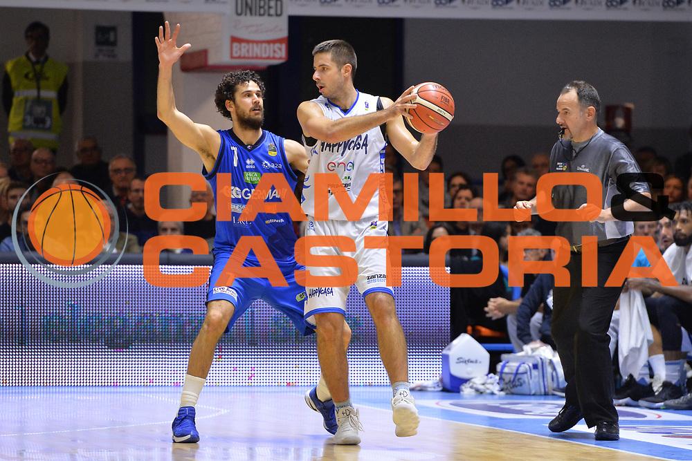 Tepic Milenko<br /> Happycasa Brindisi - Germani Basket Brescia<br /> Legabasket serieA2017-2018<br /> Brindisi , 29/10/2017<br /> Foto Ciamillo-Castoria/M.Longo