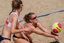 23-08-2019 NED; DELA NK Beach Volleyball Qualification, Scheveningen<br /> First day NK Beachvolleyball / Kim Klein Lankhorst