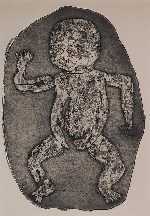 PHYLOGENY RECAP, etching 1961