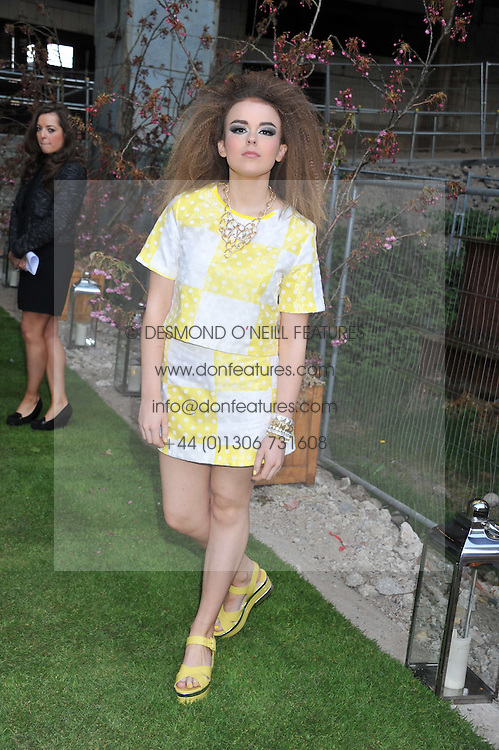 TALLIA STORM at Gabrielle's Gala an annual fundraising evening in aid of Gabrielle's Angel Foundation for Cancer Research held at Battersea Power Station, London on 2nd May 2013.