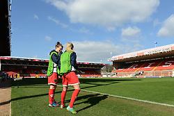 - Photo mandatory by-line: Dougie Allward/JMP - Mobile: 07966 386802 - 21/03/2015 - SPORT - Football - Bristol - Ashton Gate Stadium - Bristol Academy v FFC Frankfurt - UEFA Women's Champions League - Quarter Final - First Leg