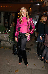 NOELLE RENO at a party to launch Pearl Lowe's fashion held at The Cross. 141 Portland Road, Holland Park, W11 on 30th October 2006.<br />
