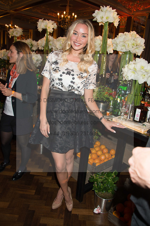 NOELLE RENO at the Cointreau Creative Crew Launch at the Cafe Royal, Regent's Street, London on 27th October 2015.