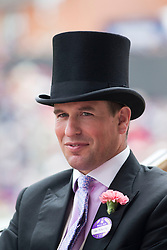 Peter Phillips at Royal Ascot. Image ©Licensed to i-Images Picture Agency. 19/06/2014. Ascot, United Kingdom. Royal Ascot. Ascot Racecourse. Picture by i-Images
