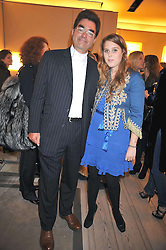 PRINCESS BEATRICE OF YORK and MARK McKEOWN Chief Executive of Children in Crisis at a reception in aid of Children in Crisis held at the Roger Vivier store, 188 Sloane Street, London on 19th March 2009.