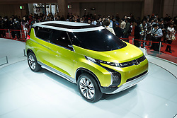 Mitsubishi AR concept hybrid electric car at Tokyo Motor Show 2013 in Japan