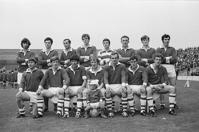 22.08.1971 Football All Ireland Semi Final Cork Vs Offaly..Cork Senior Team.