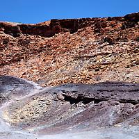 Africa, Namibia, Twyfelfontein. Burnt Mountain of Twyfelfontein.