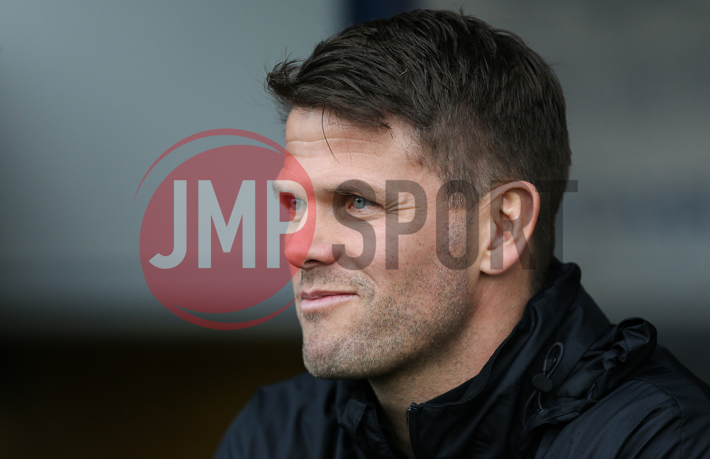 Southend United assistant manager Hermann Hreidarsson - Mandatory by-line: Arron Gent/JMP - 27/10/2019 - FOOTBALL - Roots Hall - Southend-on-Sea, England - Southend United v Ipswich Town - Sky Bet League One
